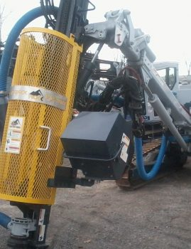 Rock Drill Safety Cage